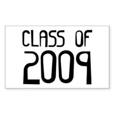 Class of 2009 Rectangle Decal