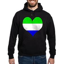 I Love Sierra Leone Hoodie