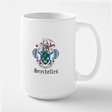 Seychellois Coat of Arms Seal Mug