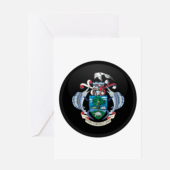 Coat of Arms of seychelles I Greeting Card