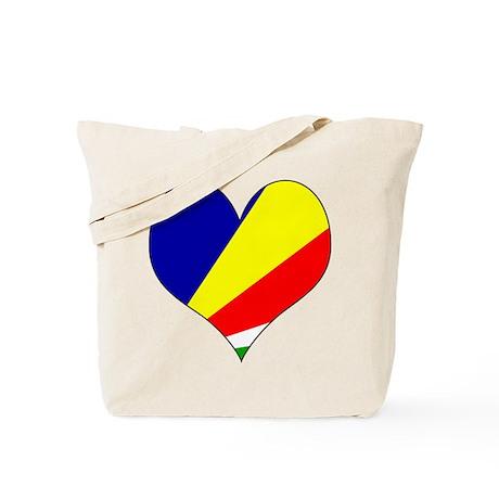 I Love seychelles Islands Tote Bag