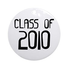 Class of 2010 Ornament (Round)