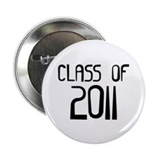 "Class of 2011 2.25"" Button (100 pack)"