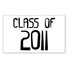Class of 2011 Rectangle Decal