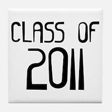 Class of 2011 Tile Coaster