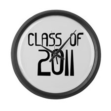 Class of 2011 Large Wall Clock