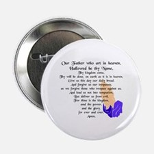 "Lord's Prayer 2.25"" Button (10 pack)"