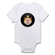 Coat of Arms of Serbia Infant Bodysuit