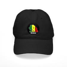 Flag Map of senegal Baseball Hat