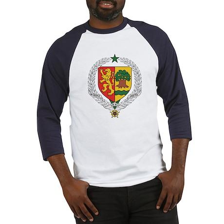 senegal Coat of Arms Baseball Jersey