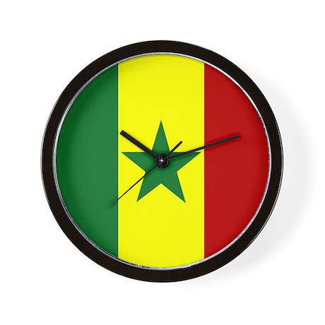 Senegalese Wall Clock