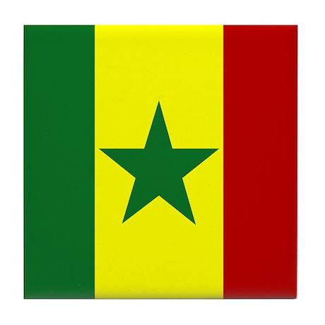 Senegalese Tile Coaster