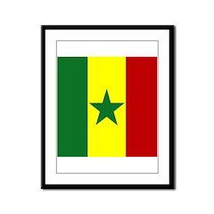 Senegalese Framed Panel Print