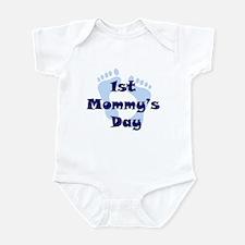 1st Mommy's Day - Blue Feet - Infant Bodysuit