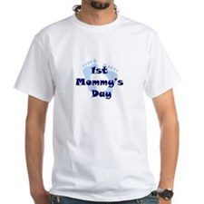 1st Mommy's Day - Blue Feet - Shirt