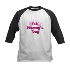 1st Mommy's Day - pink feet - Tee