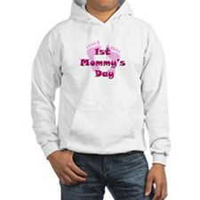 1st Mommy's Day - pink feet - Hoodie
