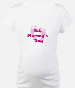 1st Mommy's Day - pink feet - Shirt