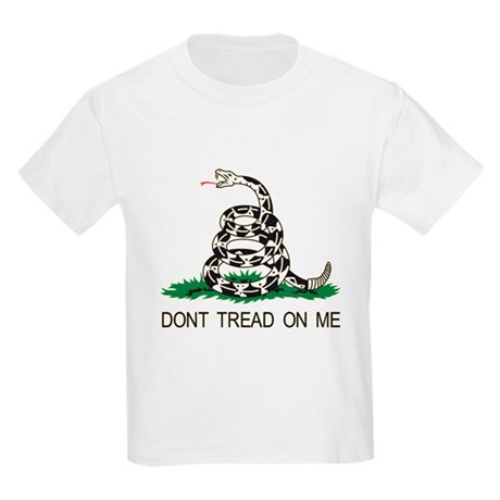 Gadsden Flag Kids Light T-Shirt