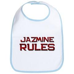 jazmine rules Bib