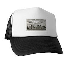 Stone Henge UFO Trucker Hat