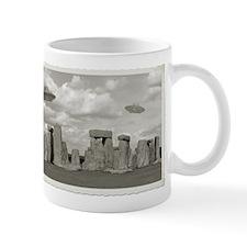 Stone Henge UFO Mug