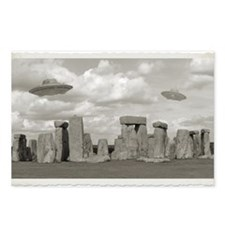 Stone Henge UFO Postcards (Package of 8)