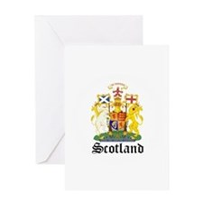 scottish Coat of Arms Seal Greeting Card