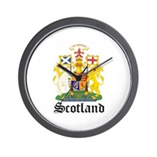 scottish Coat of Arms Seal Wall Clock