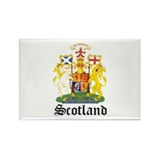 scottish Coat of Arms Seal Rectangle Magnet