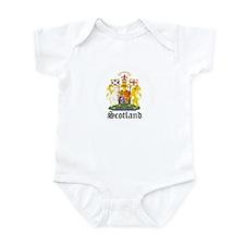 scottish Coat of Arms Seal Infant Bodysuit