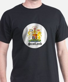 scottish Coat of Arms Seal T-Shirt