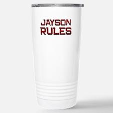 jayson rules Travel Mug