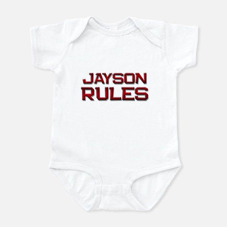 jayson rules Infant Bodysuit