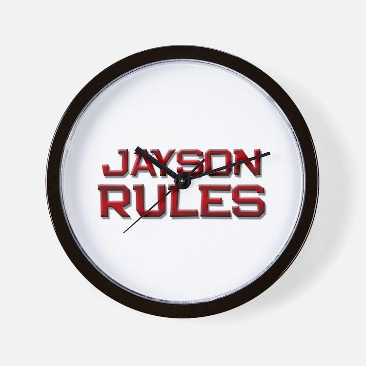 jayson rules Wall Clock