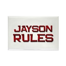 jayson rules Rectangle Magnet