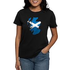 Scotland Flag Map Tee