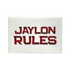 jaylon rules Rectangle Magnet