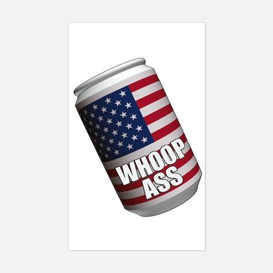 USA Rectangle Decal