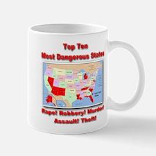 Most Dangerous States Mug