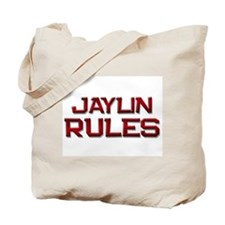 jaylin rules Tote Bag
