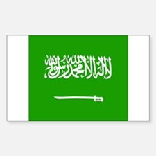 Saudi Rectangle Decal