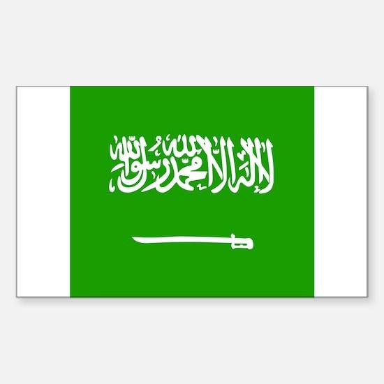 Saudi Rectangle Decal