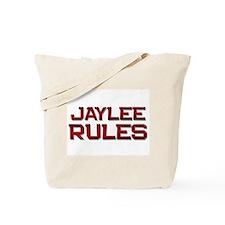jaylee rules Tote Bag