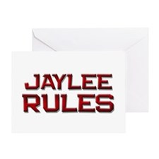 jaylee rules Greeting Card