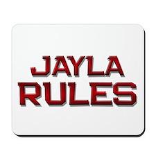 jayla rules Mousepad