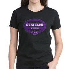 Duathlon Purple Oval-Women's Spectator Tee