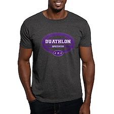 Duathlon Purple Oval-Women's Spectator T-Shirt