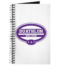 Duathlon Purple Oval-Women's Spectator Journal