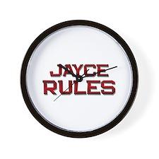 jayce rules Wall Clock